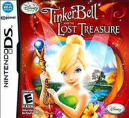 Disney Fairies: Tinker Bell and the Lost Treasure (Nintendo DS, 2009) Video Game