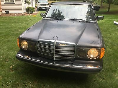 1985 Mercedes-Benz 300-Series Turbo Diesel Unstoppable Teutonic Survivor 1985 Mercedes-Benz Diesel 300 Turbo Diesel 300TD