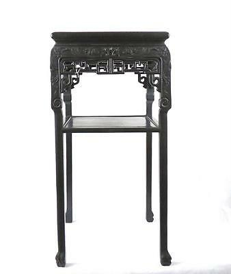 Chinese 19thC Qing Dynasty Large Incense Stand
