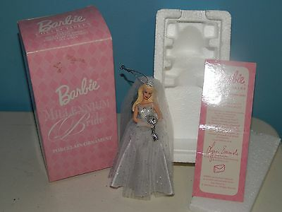 Barbie Millennium Bride Porcelain Ornament