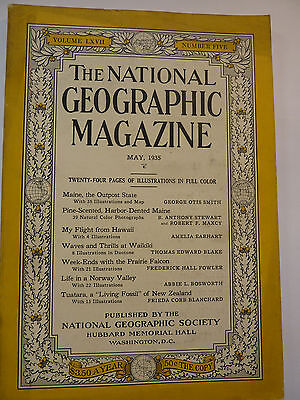 National Geographic, May 1935 englisch