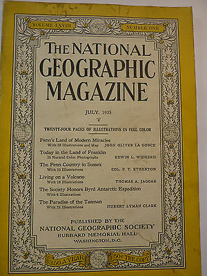 National Geographic, July 1935 englisch