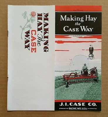 Hay Making Machinery,J.I.Case Co.Racine,Wis.,Brochure,1930