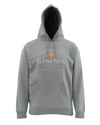 Simms Badge of Authenticity~ Gunmetal Heather NEW ~ Size Medium ~ CLOSEOUT