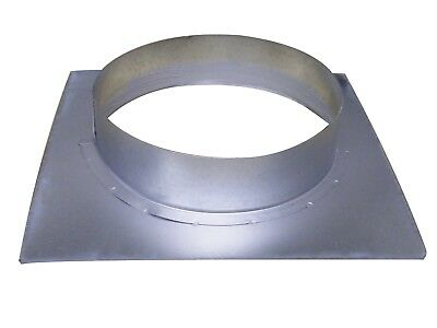 Wall Flange 250 mm Board 260 mm x 260 mm Spiral Ducts