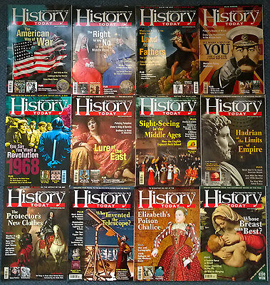 HISTORY TODAY magazines FULL YEAR 2008 x12 (twelve) issues
