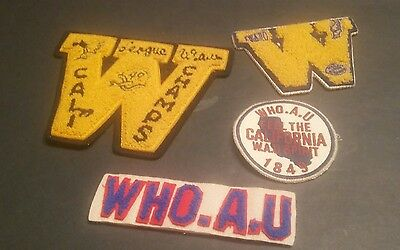 Vintage  Patches Lot of 4