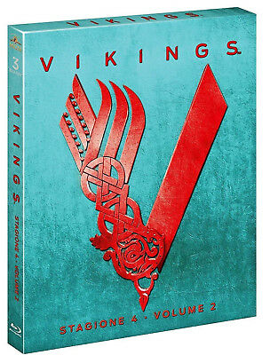 Vikings - Stagione 4 - Volume 2 (3 Blu-Ray) Serie Tv Warner Bros