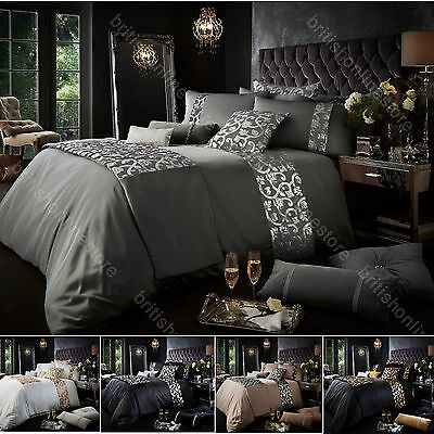Katie Luxurious Duvet Covers Quilt Covers and Bedding Sets All Sizes (198)
