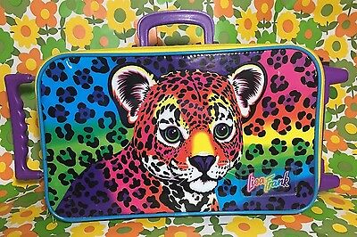 Vintage Lisa Frank Rare 90s Luggage, Suitcase, Bag