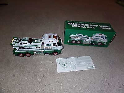 2016 Hess Toy Truck & Dragster In Original Box