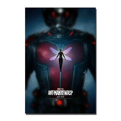 Ant-Man and the Wasp Hot Movie Art Silk Poster 13x20 24x36 inches