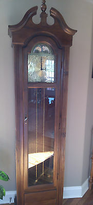 Viking Grandfather Clock  With Moon Dial-Never Been Set Up