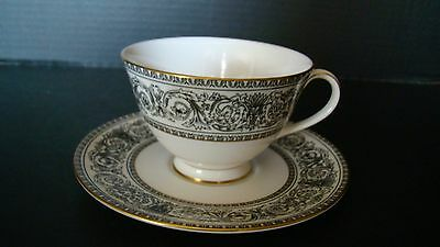 Royal Doulton Baronet Bone China Cup And Saucer