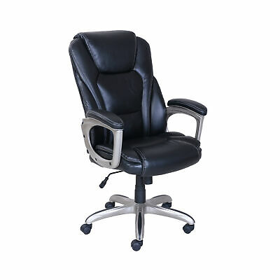 Serta Big and Tall Commercial Office Chair With Memory Foam BLACK UP TO 350LBS