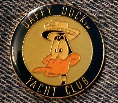 Daffy Duck Pin~Yacht Club~1993~WB~Looney Tunes~by Gift Creations~NOS