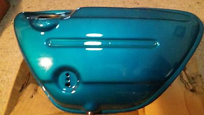 Suzuki T500 And Gt 500 Oil Tank / Side Cover, New