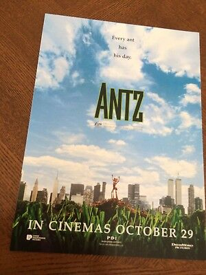 Antz Fold Out Movie Poster