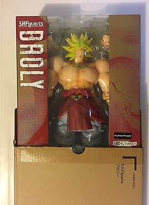 Bandai S.H Figuarts Dragonball Z Web Exclusive Broly Figure Authentic USA