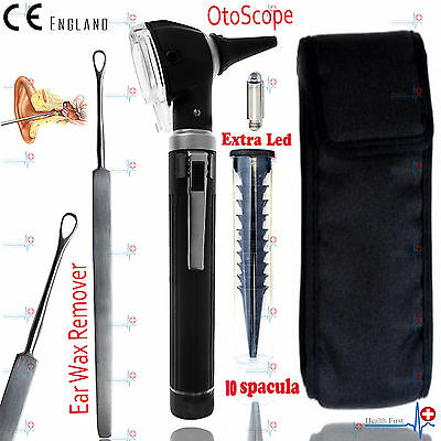 EAR WAX REMOVER & Otoscope MEDICAL EAR CLEANER SURGICAL PRODUCTS 14cm