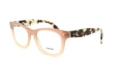 $360 Prada Women Brown Eyeglasses Framed Glasses Optical Lenses Bifocal Italy