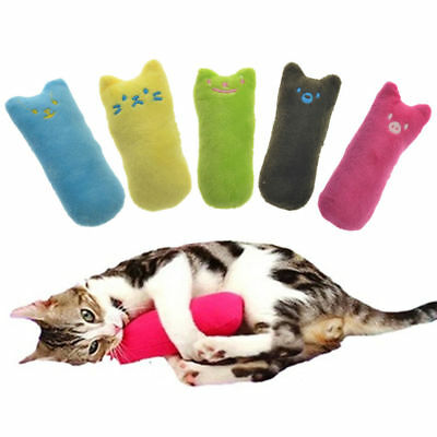 Interactive Catnip Cat Pillow Toy Teeth Grinding Claws Gift For Your Lovely Cat