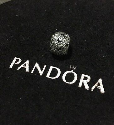 Pandora Butterfly Pave Ball Charm 791482cz Authentic Like New Ale Retired
