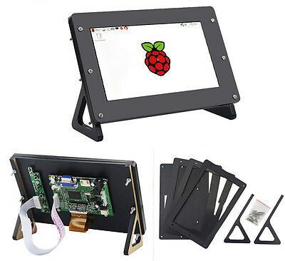 Raspberry pi 3 model b 7 inch 1024x600 Screen LCD Display with Case