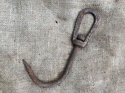 A Vintage Industrial Factory Revolving Iron Steel Butcher Game Meat Hook