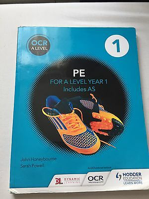 OCR Year 1/ A Level PE textbook