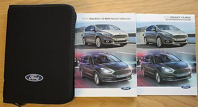 ford galaxy s max handbook owners manual wallet service book 2015 rh picclick co uk
