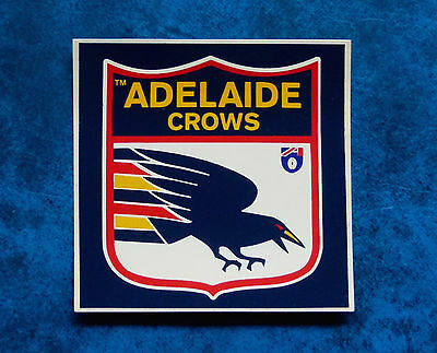 ADELAIDE FOOTBALL CLUB  -  Vintage  CROWS  AFL sticker