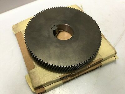 Sharpe Mixers #DG10334 Helical Gear 100 Tooth w/ Key For: F-Series / M5 Gear Box