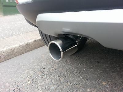 ROUND Chrome Exhaust Tailpipe 50-59mm S/Steel fits CITROEN C4 PICASSO (CT1)