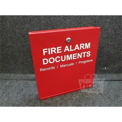 Space Age Electronics SSU00685 Fire Alarm Storage Cabinet Red