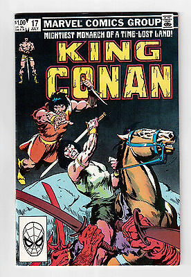 """comic Book Madness"", Marvel Comic Books, King Conan # 17, 1983 !!"