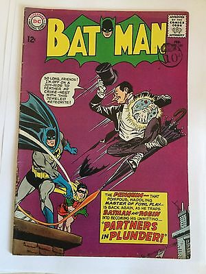 Batman # 169 - Fine  - classic cover 2nd SA Penguin