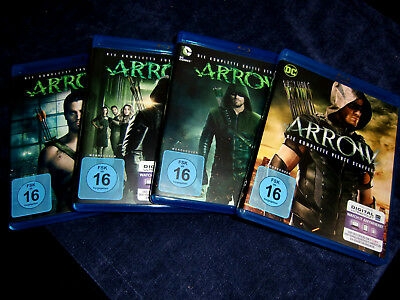 Arrow - Staffel 1+2+3+4 - Blu-ray !
