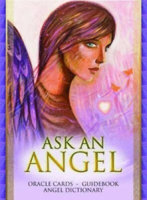 Ask an Angel Oracle Cards and Book Set by Carisa Mellado 9780975768327