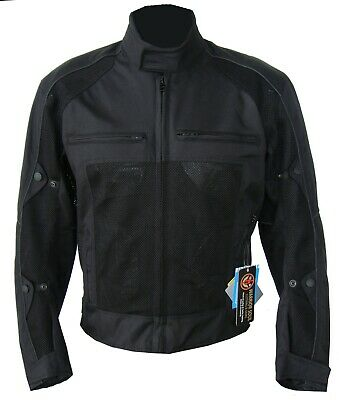 New Motorcycle 600D Cordura Mesh Breathable Ce Removable Protector Armour Jacket