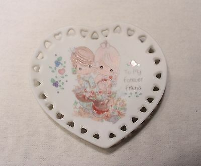 Precious Moments The Enesco Heart Shaped Decorative Plate