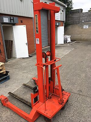 Manual Pallet Stacker, Hand, Mover, Lifter, Truck, Loader, Pallets, Racking