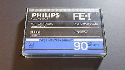 Vintage PHILIPS FE-I CassetteType I (IEC 1)  -  NORMAL POSITION / Collectable!