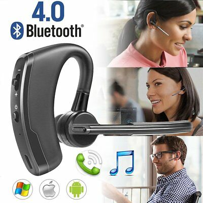 Wireless Bluetooth Stereo Headset Earphone Handsfree Business For Samsung LG HTC