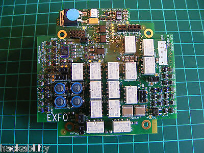 Exfo Axs-200 - Plq0509E - Sap 1053816 - Main Relay Board