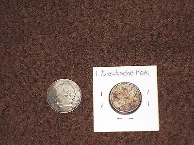 1966 MAX PLANCK 1858-1947 2 DEUTSCHE MARK Germany Fed. Rep.(+one other coin)