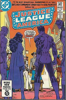 DC Comics 1982 JUSTICE LEAGUE AMERICA Issue 198 **Free UK Postage**