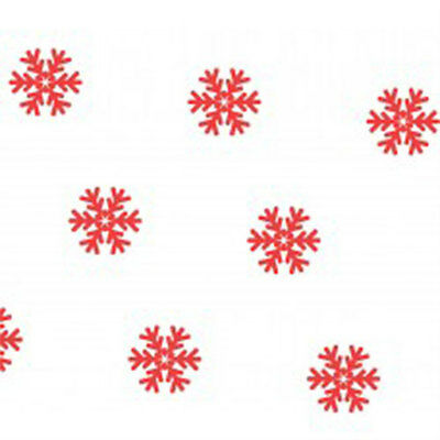 Red Snowflake Tissue Paper 500mm x 750mm Multi Listing