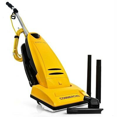 Commercial Upright Vacuum Cleaner Carpet Pro CPU-2T 3 extra belts and 12 bags