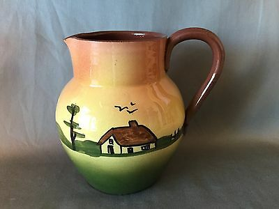 "TORQUAY MOTTO WARE Cottage Series 5.5"" MILK JUG"